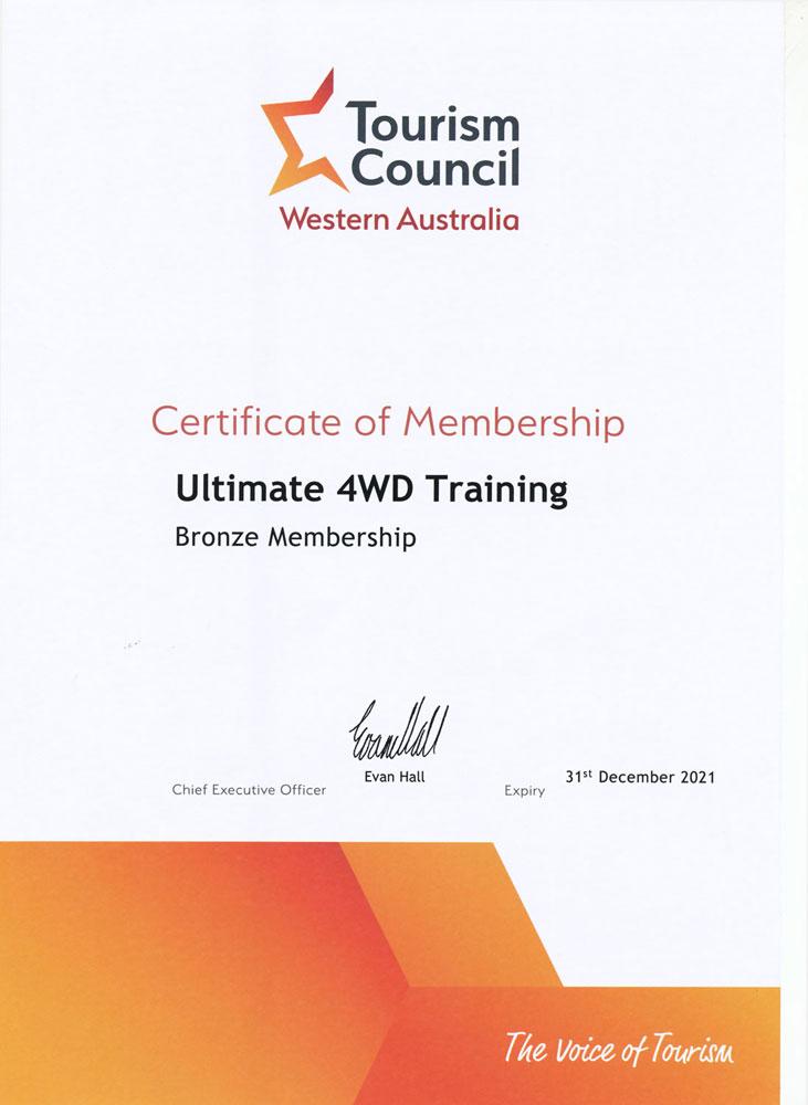 Membership Certificate 2021