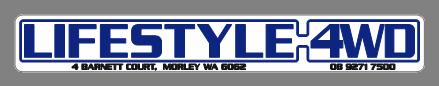 lifestyle logo sticker